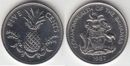 Bahamas 5 Cents 1987 Km#60 - Used - Bahamas