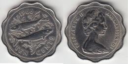 Bahamas 10 Cents 1966 Km#4 - Used - Bahamas