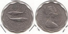 Bahamas 10 Cents 1969 Km#4 - Used - Bahamas
