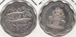 Bahamas 10 Cents 1975 Km#61 - Used - Bahamas