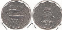 Bahamas 10 Cents 1980 Km#61 - Used - Bahamas
