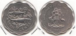 Bahamas 10 Cents 1985 Km#61 - Used - Bahamas