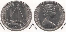 Bahamas 25 Cents 1969 Km#6 - Used - Bahamas