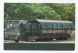 Postcard BRAZIL BRASIL CURITIBA PARANÁ Bus Buses Cars Car Year 1992 - Curitiba