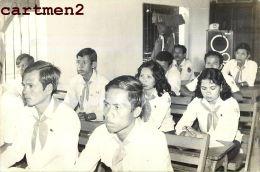 CAMBODGE CAMBODIA GRANDE PHOTOGRAPHIE SCOUT ? SCOUTISME ? TEMPLE ANGKOR PHNOM-PENH Indochine - Cambodge