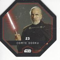 JETON LECLERC STAR WARS   N° 23 COMTE DOOKU - Power Of The Force