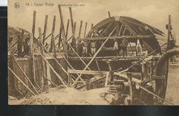 édition Nels  N° 15. Construction D'un Pont    Obl. ../12/1927  Pour Elouges - Congo Belge - Autres