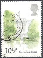 Gran Bretagna - 1980 Buckingham Palace, 10½p Multi # S.G. 1120 - Michel 836 - Scott 910 USED - Oblitérés