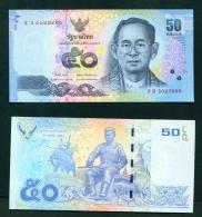 THAILAND  -  2011  50 Baht  UNC Banknote - Thailand