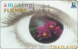 Thailand Phonecard  Orchidee 500 Baht  Lenso Nr. 067 - Tailandia