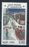 Saint Pierre And Miquelon, Christmas, 1993, MNH VF - St.Pierre & Miquelon