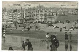 Ostende - La Plage - Edit. Le Bon N° 121 - 2 Scans - Oostende