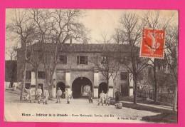 CPA (Réf : PA042)  BLAYE (33 GIRONDE)  Intérieur De La Citadelle Porte Nationale Sortie Côté Est - Blaye