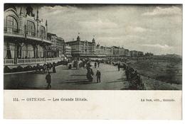 Ostende - Les Grands Hôtels - Edit. Le Bon N° 151 - 2 Scans - Oostende