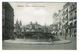Ostende - Avenue Léopold Et Kursaal - Edit. Carte Lux N° 118 - 2 Scans - Oostende