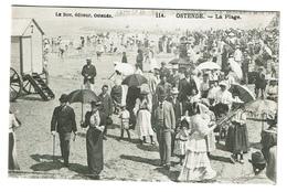 Ostende - La Plage - Edit. Le Bon N° 114 - 2 Scans - Oostende