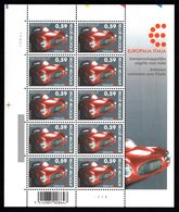 "BELGIUM 2003 ""Europhalia Italia"" Festival: Sheet Of 10 Stamps UM/MNH - Full Sheets"