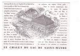 94 Saint Mandé Le Chalet Du Lac Restaurant Dancing - Saint Mande