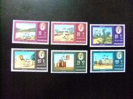 SHARJAH 1964 Cheikh Et Paysages KHOR FAKKAN Yvert 16 / 21 ** MNH - Sharjah