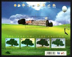 BELGIUM 2013 Centenary Of The Royal Meteorological Institute: Miniature Sheet UM/MNH - Bloques 1962-....