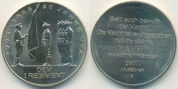 DDR Medaille, NVA 30 Jahre Nationale Volksarmee 1956 - 1986, Dem I. Regiment - Other