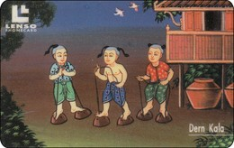 Thailand Phonecard  Children Kinder 500 Baht  Lenso Nr. 121 - Thaïland