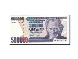 Billet, Turquie, 500,000 Lira, 1998, Undated, KM:212, NEUF - Turquie