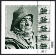 BELGIUM 2015 Crevette Fishermen: Sheet Of 5 Stamps UM/MNH - Blocks & Sheetlets 1962-....