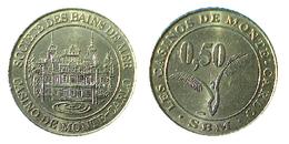 00292 GETTONE JETON TOKEN MONACO MONTECARLO GAMING  SOCIETE DES BAINS DE MER - Casino
