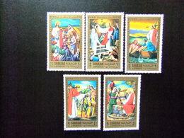 SHARJAH 1971 NAVIDAD Milagros De Cristo PINTURAS Yvert 246 FU - Sharjah