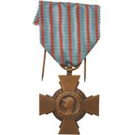 France, Croix Du Combattant De 1914-1918, Medal, Très Bon état, Bronze, 36 - Other
