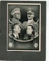 Deutsches Reich Propaganda Postkarte 1939 Militärpakt Adolf Hitler - Deutschland
