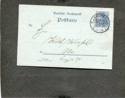 Deutsches Reich Postkarte 1900 Mit Sonderstempel Natur Und Aerzte - Deutschland