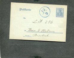 Deutsches Reich Postkarte 1900 Mit Sonderstempel - Deutschland
