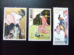 SHARJAH 1967 SEMANA De CORREOS Sellos JAPONESES Yvert 199 ** MNH - Sharjah