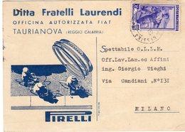 PIRELLI - Ditta Fratelli Laurendi  - Taurianova (RC) - - Reggio Calabria