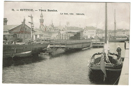 Ostende - Vieux Bassins - Edit. Le Bon N° 91 - 2 Scans - Oostende
