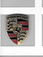 Pin's  Automobile  Sigle  PORSCHE  à  STUTTGART  ( 2,7 Mm / 36 Mm ) - Porsche