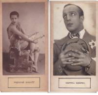 RAYMOND SOSOFF; MARCEL ANDREAU. AUTOGRAPHE AUTOGRAFO SIGNEE SIGNATURE AUTHENTIQUE ORIGINAL.-BLEUP - Autographes