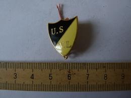 Insigne Décoration Broche Ancienne  émaillée U.S  V.L  MILITAIRE - Army & War