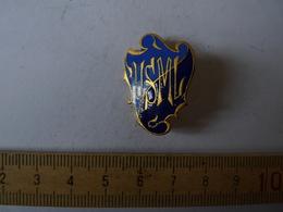 Insigne Décoration Broche Ancienne  émaillée U S M L BLASON - Army & War