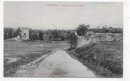 PARTHENAY - N° 55 - RUINES DE L' ANCIEN CHATEAU - CPA NON VOYAGEE - Parthenay