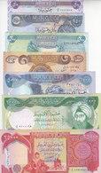 IRAQ 50 250 500 1000 5000 10000 25000 DINAR 2003 P-90 91 92 93 94 95 96 UNC SET - Iraq