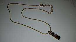 COLLIER FANTAISIE CHRISTIAN DIOR - Necklaces/Chains