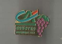Pin's Crédit Agricole Essoyes Septembre 1991 - Banques