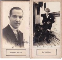 MIGUEL BUCINO; J BUCLES. AUTOGRAPHE AUTOGRAFO SIGNEE SIGNATURE AUTHENTIQUE ORIGINAL.-BLEUP - Autographs
