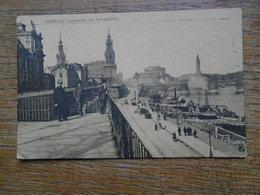 "Allemagne , Dresden , Landeplatz Der Dampfschiffe """" Carte Animée """" - Dresden"
