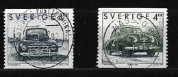 SCHWEDEN Mi-Nr. 1746 - 1747 Schwedische Automobile Gestempelt - Schweden