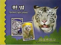 KOREA NORTH (DPR), 2005, Booklet 136, White Tiger - Corée Du Nord