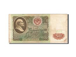 Billet, Russie, 50 Rubles, 1991, 1991, KM:241a, TB - Russie
